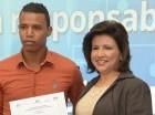 La vicepresidenta Margarita Cedeño entregó certificados.