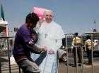 Los mexicanos saludan la visita del papa Francisco.