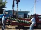 Bomba de agua instalada por Inapa en Arroyo Cano.