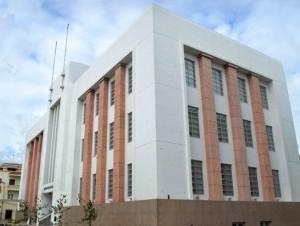El Centro Cultural de las Telecomunicaciones del Indotel se encuentra en la calle Isabel La Católica, en la Ciudad Colonial.
