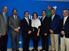 Bernardo Beker, Carlos Brito, Alejandro Suárez, Orietta Suárez, Carlino González, Rogelio Cordero y Héctor Luis Rodríguez.