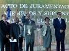 El pleno de la JCE juramentó a los miembros de las juntas electorales.