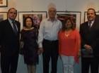 Embajador de Chile Fernando Barrera, Ana Yee de Cury, Mussa Abel, Clara Espinosa de Abel y Enrique Palacios, embajador de Perú.