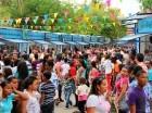 Los trabajos en la Plaza de la Cultura han impedido el montaje de la Feria del Libro.