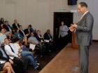La tercera semana económica y financiera concluyó con una charla, el viernes.