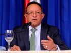 Ministro de agricultura, Ángel Estévez rinde cuentas de su gestión.