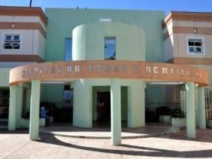 Hospital Pedro Emilio de Marchena.