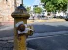 El hidrante fue tapado.