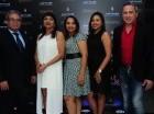 Fredy William Santos, Yanira López, Aridia Cruz, Natalie Gonzalez y Alex Macía.