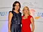 Ana María Vicente y Michelle Selman.