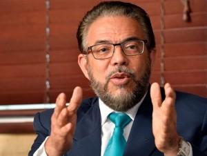 Guillermo Moreno García, candidato presidencial de Alianza País.
