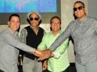 Charlie Maldonado, Chiquito Timbal, Ismael Miranda y Manuel Frías.