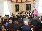 El presidente Danilo Medina recibió un informe de las ejecutorias realizadas.