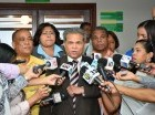 Waldo Ariel Suero, presidente del Colegio Médico Dominicano.
