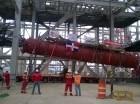 Las dimensiones del equipo son considerables; tiene una longitud de 26 metros.