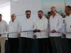 El presidente Danilo Medina realizó el corte simbólico de la cinta.