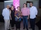 Fernando de la Cruz, Patricia González de Bergés, Amada Pittaluga de González, Luis Franco y Paul Martínez Efres.