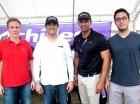George Castillo, Carlos Rodríguez, Riandys Helena y Alfredo Yunes.