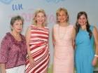 Lisette Purcell, Susana Caro, Matilde Farach y María Isabel Serulle.