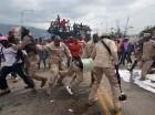 Las protestas han vuelto a estallar en Haití para reclamar elecciones.