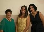 Frida Pichardo de Villamil, Ysabel Crespo y Margarita Heinsen Guerra.