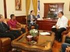 El ministro de la Presidencia, Gustavo Montalvo, propone mesa de diálogo a gremios de la UASD.