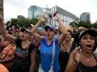 Venezolanos han salido a las calles a protestar contra el presidente Maduro.