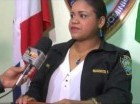 La vocero de la Policía en esa provincia, Heidi Fernández.