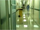 Hospital San Vicente de Paúl inundado tras lluvias de los últimos días.