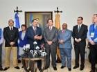 Roberto Rosario se ha reunido varias veces con los representantes de Unasur.