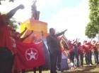 El MIU homenajea a fenecido líder sindical Mauricio Báez en Día del Trabajador.