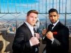 El combate entre Canelo Álvarez y Amir Kahn se realizará este sábado en Las Vegas.