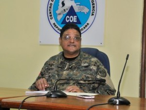 General Juan Manuel Méndez, director del COE.