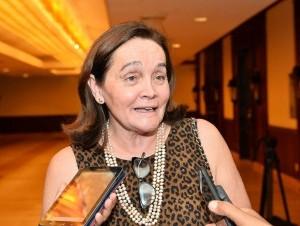 Marta Lagos, directora ejecutiva de Latinobarómetro.