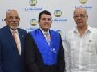 Francisco Melo, Joelvis Díaz y Freddy Reyes.