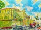 Una de las obras del pintor.