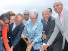 Autoridades de salud dan el primer picazo para la construcción del Hospital Doctor Pedro E. Marchena en Bonao.