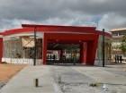 Estación ubicada en la Mella.