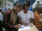 Durante el proceso se lograron 1,8 millón de firmas para el referendo revocatorio contra el presidente de Venezuela Nicolás Maduro.