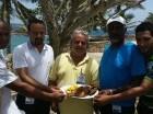 Organizadores del Festival Gastronómico del Pescado en Boca de Yuma.
