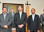 Roberto Rosario recibió a representantes de las empresas generadoras eléctricas.