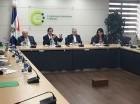 Reunión de cara a la firma del Pacto Nacional para la Reforma del Sector Eléctrico.