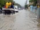 Lluvias inundaron calles.