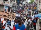 Las protestas continúan en Haití en reclamo de elecciones.