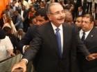 Danilo Medina en la inauguración del Metro.