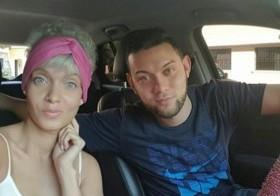 Yelitza Lora y su hermano fallecido