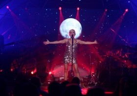 La cantante española Ana Torroja, otrora vocalista del grupo español Mecano.