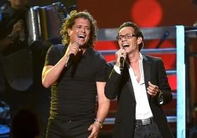 Carlos Vives y Marc Anthony grabaron en el 2014