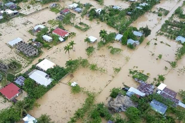 Resultado de imagen para fotos de inundaciones del bajo yuna