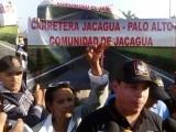 Comunidades de la cordillera septentrional marchan hasta la gobernación provincial de Santiago